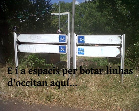 Vila de Tolosa signaletica sense occitan
