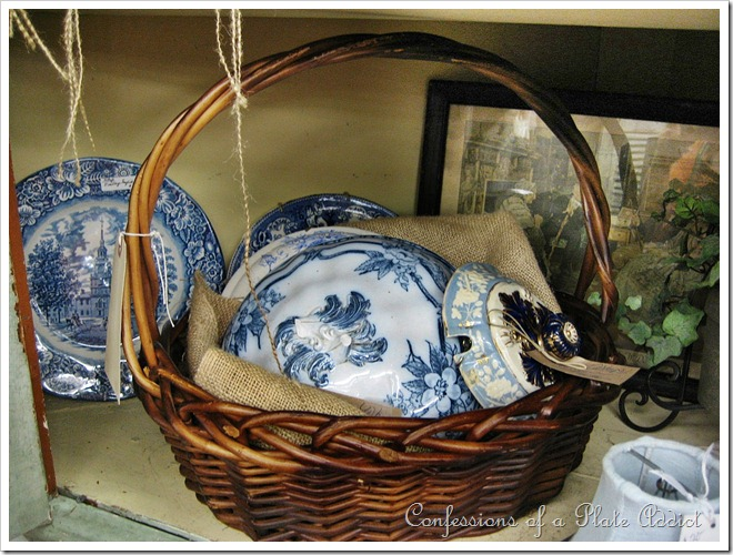 Basket of lids