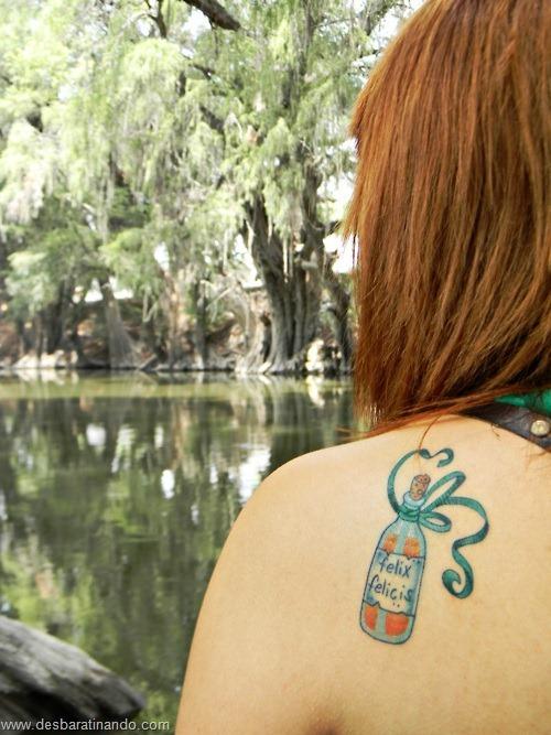 tatuagens harry potter tattoo reliqueas da morte bruxos fan desbaratinando (32)