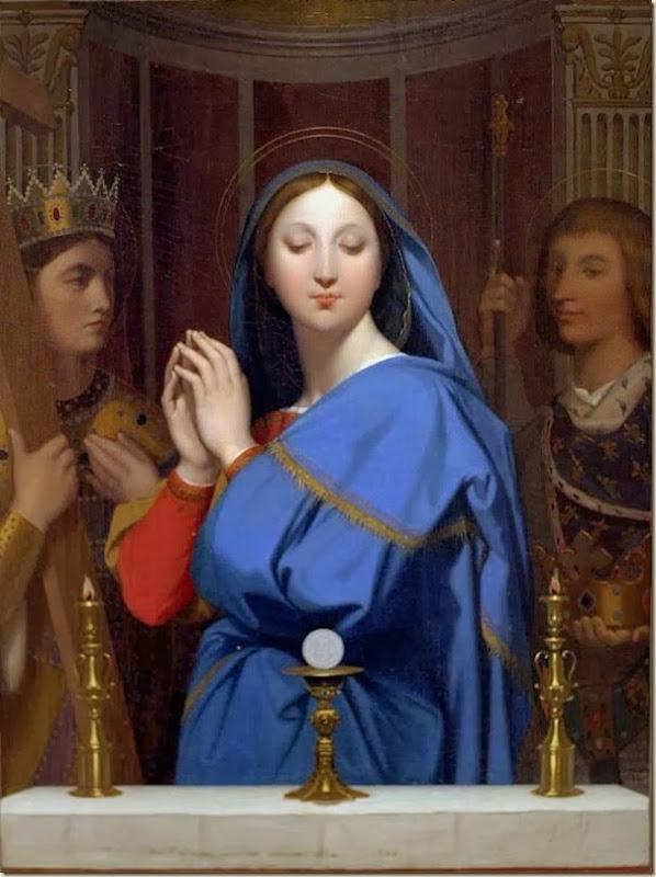 Ingres, Vierge Marie