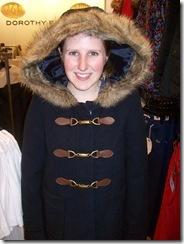 blue coat hood