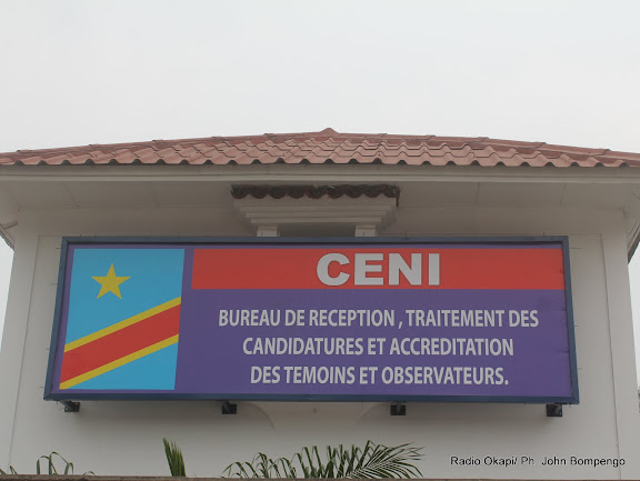 – Une extension de la Ceni. Radio Okapi/ Ph. John Bompengo