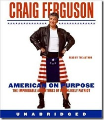 audio book cover of American on Purpose by Craig Ferguson