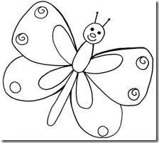 colorear mariposas pintaryjugar com (3)