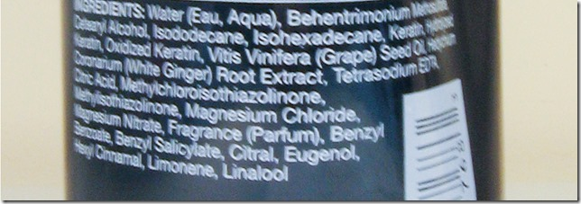 Awapuhi Conditioner Ingredients