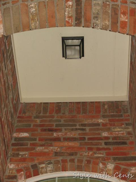 rustoleum oil rubbed bronze spray paint front porch light fixture 6