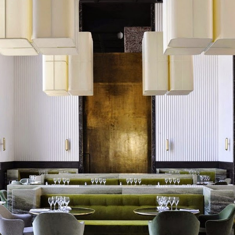 Trends in restaurant design by leading European designers