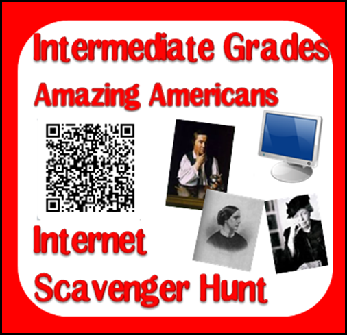 Internet Scavenger Hunt for 9 different Amazing Americans throughout American History.  These resources were designed to help teachers meet the Georgia Performance Standards for 3rd grade Social Studies.  Download now from Raki's Rad Resources