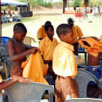 DSC_0273 School Pupils of Kwao Larbi Anglican Primary Trying on their New Uniforms.jpg