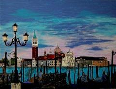 Venice Italy Nail polish painting