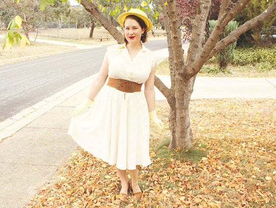 Vintage 1950's style for postpartum mothers | Lavender & Twill