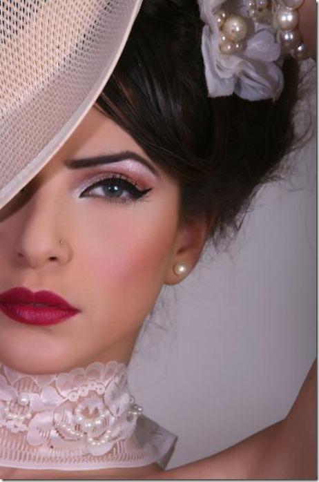 incredibly beautiful formal makeup
