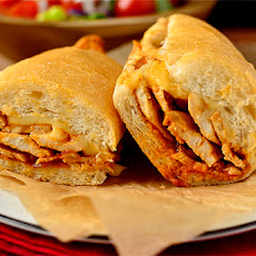 Buffalo Chicken Cheesesteaks