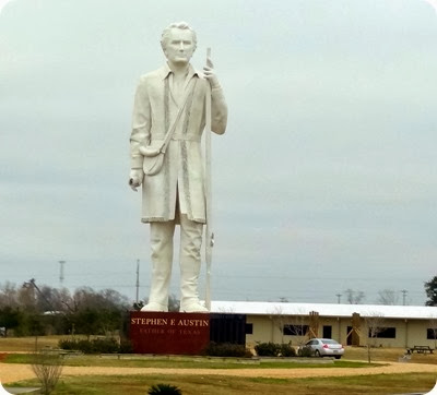 Austin statue