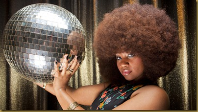 Aevin Dugas - Largest Afro<br />Guinness World Records 2010<br />Photo Credit: Chris Granger/Guinness World Records<br />Location New Orleans, USA