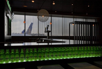 Heineken lounge newark new jersey interior design