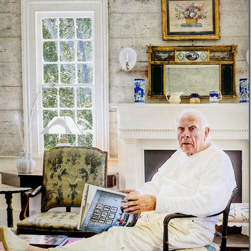 How Does A 90 Year Old Gentleman Decorate? In Connecticut, Downtown NYC, and London