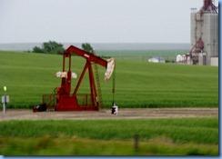 2005 Saskatchewan TC-1 East - one of many oil well pumps between Gull Lake & Webb