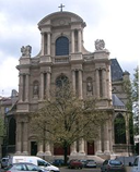 The church of Saint Gervais in Paris, where Louis Couperin served as organist from 1653 until his death