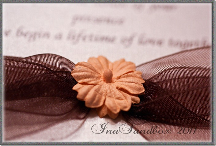 Invitation bow