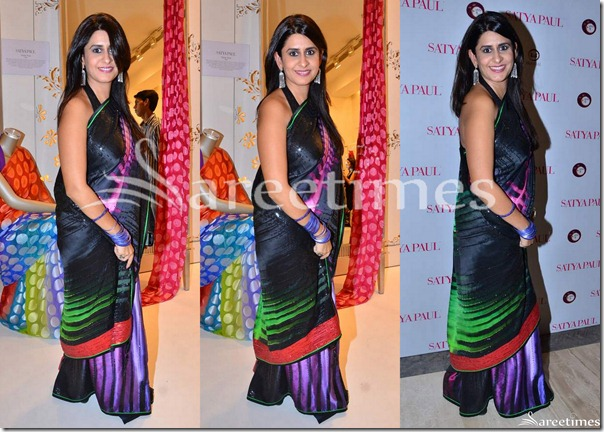 Sujata_Assoumal_Sippy_Satya_Paul_Saree