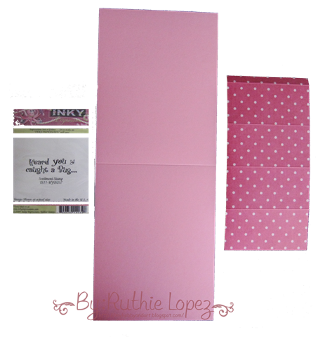 Kleenex Card Tutorial - Get well card - Inky Impressions - Ruthie Lopez DT