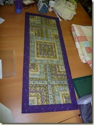 Margaret F's table runner