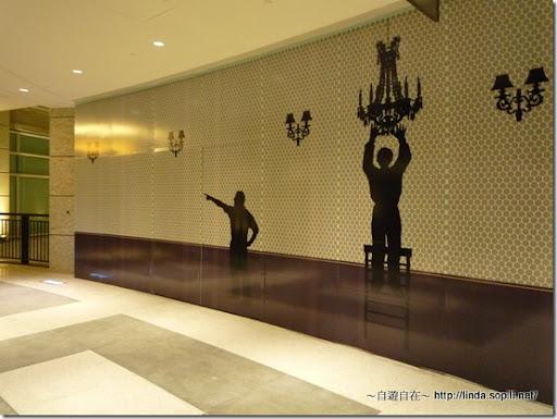 BELLAVITA-二樓花燈壁紙
