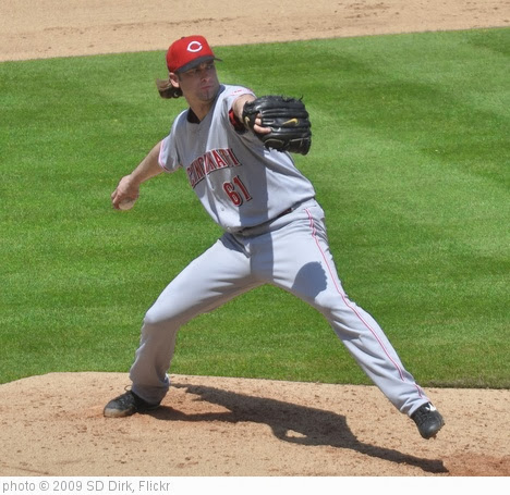 'Bronson Arroyo 02' photo (c) 2009, SD Dirk - license: http://creativecommons.org/licenses/by/2.0/