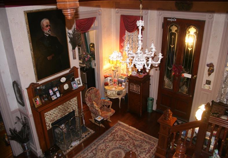 victorian foyer