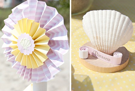 Semplicemente Perfetto beach-baby-party-details