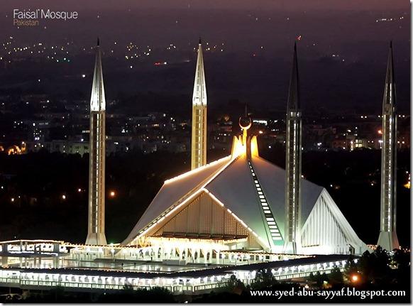 Masjid Faisal – Islamabad, Pakistan