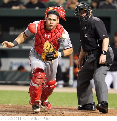 'Washington Nationals catcher Wilson Ramos' photo (c) 2011, Keith Allison - license: http://creativecommons.org/licenses/by-sa/2.0/