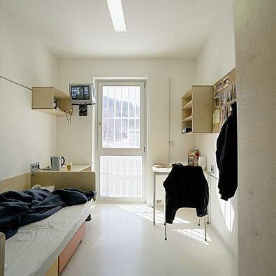 Austrian jail in Leoben(Austria), designed by architect Joseph Hohensinn