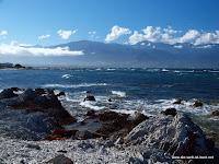 rauhe Küste bei Kaikoura