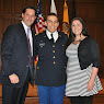 US Army Commissioning Ceremony for Matthew Neuringer
