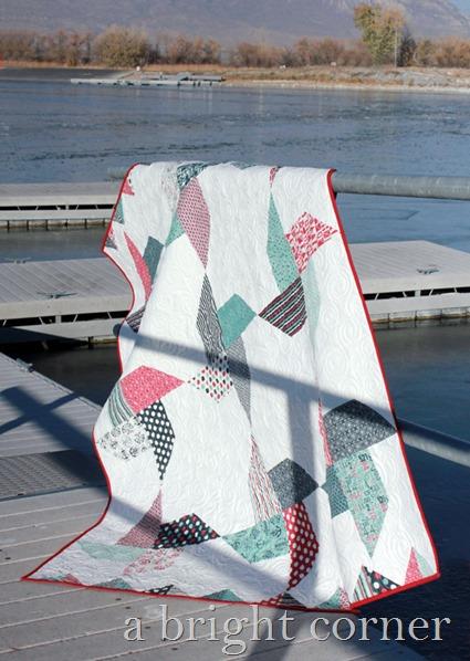 Jolly Pinwheels quilt pattern