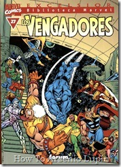 P00027 - Biblioteca Marvel - Avengers #27