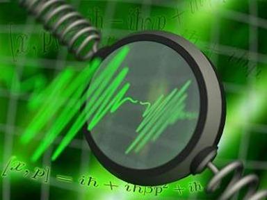 pulso de laser usado para testar a gravitação quântica