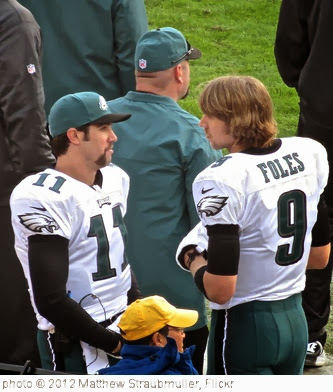 'Trent Edwards & Nick Foles' photo (c) 2012, Matthew Straubmuller - license: http://creativecommons.org/licenses/by/2.0/