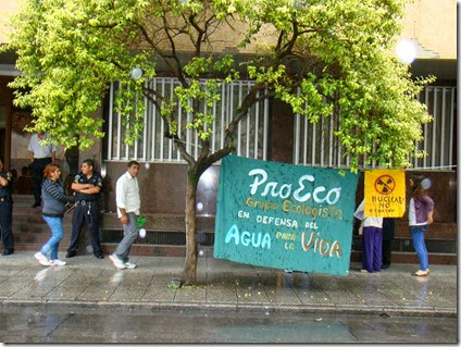 Acto ProEco Tucuman en UNT
