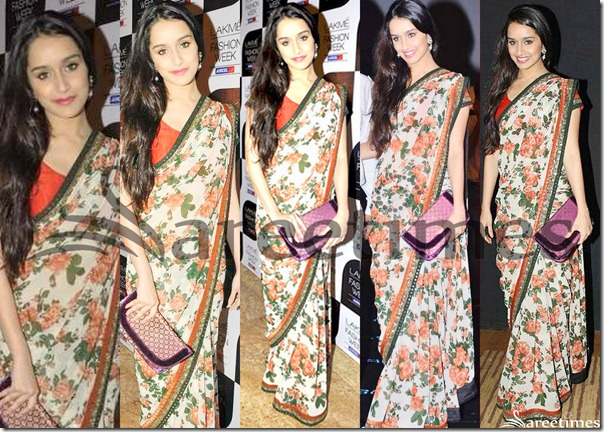 Shraddha_Kapoor_Printed_Georgette_Saree