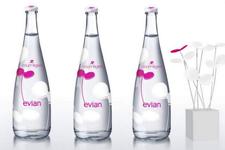 Imagen Video: Evian, Edición limitada por Courrèges