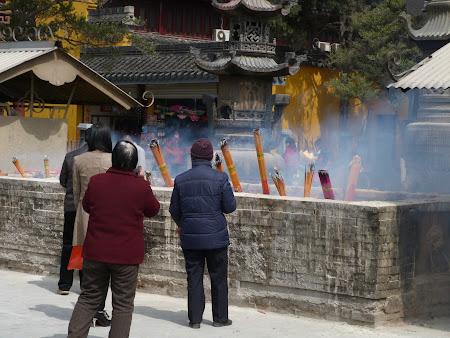 Rugaciuni in China
