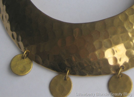 Day Birger Gold coin necklace