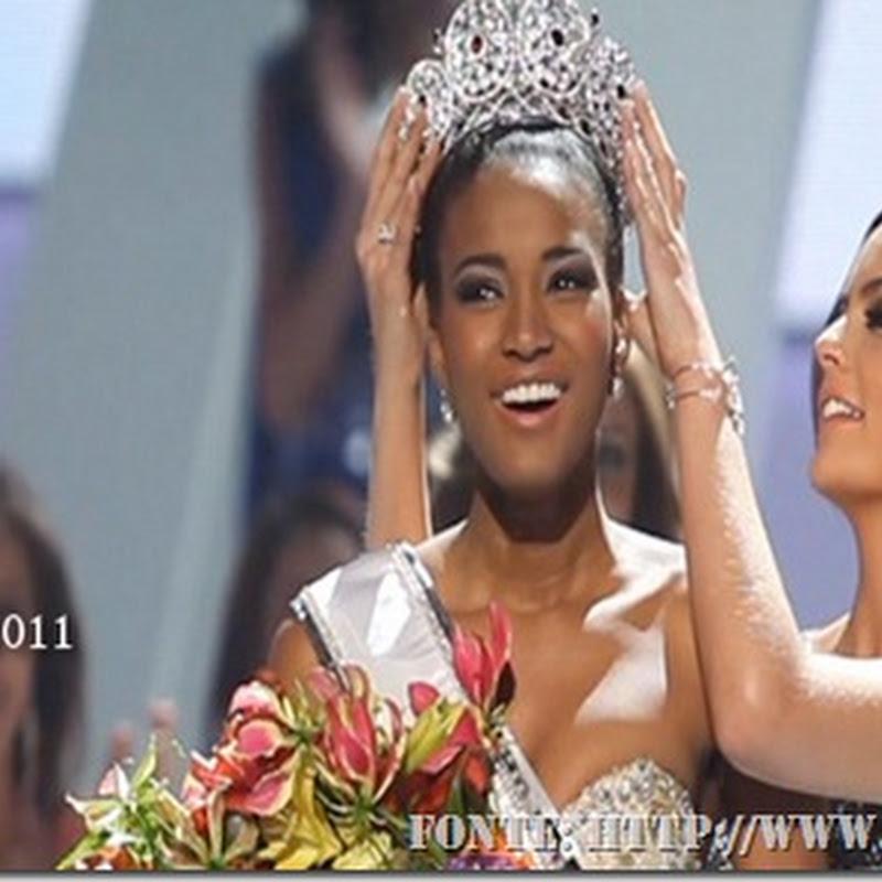 Angolana é eleita a mulher mais bonita do universo.