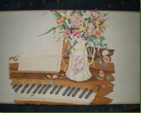 piano cross stitch