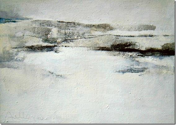 landscape on white v-Sergio-Aiello-ENKAUSTIKOS