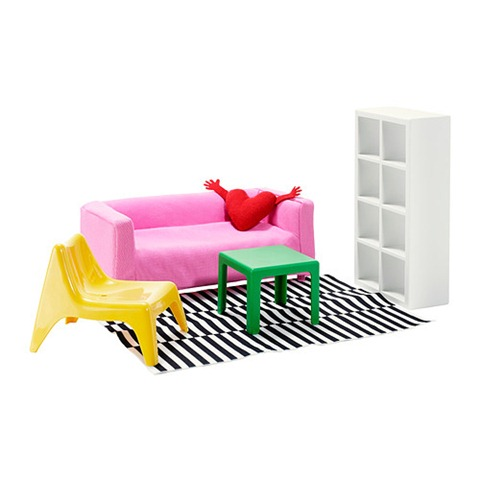 Muebles miniatura Ikea Huset