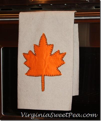 Drop Cloth Tea Towel